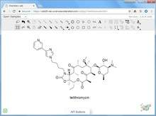 ChemDraw® JS Drawing Pane