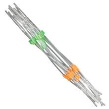 Flared PVC Peristaltic Pump Tubing - 0.38 mm I.D - Orange-Green