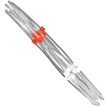 Flared PVC Peristaltic Pump Tubing - 1.09 mm I.D - White-Red
