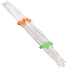 Flared Solva Peristaltic Pump Tubing - 0.38 mm I.D - Orange-Green