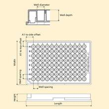 Microplate Dimensions Reference Diagram