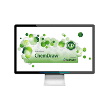 Monitor with ChemDraw