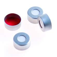 PTFE/Silicone Septa White/Red