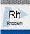 Rhodium (Rh) Pure Plus Standard