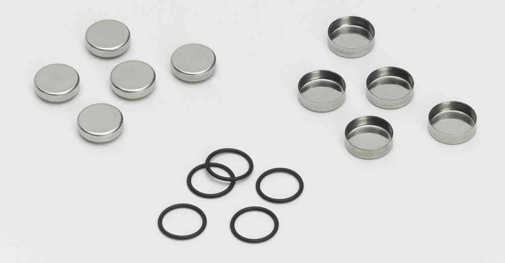 Stainless Steel Pans, Covers and O-Rings, Pkg.20 | PerkinElmer