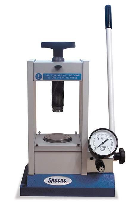 15 Ton Hydraulic Kbr Press Perkinelmer