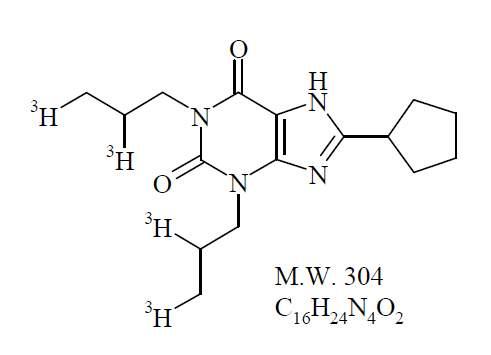 8-Cyclopentyl-1,3-dimethylxanthine