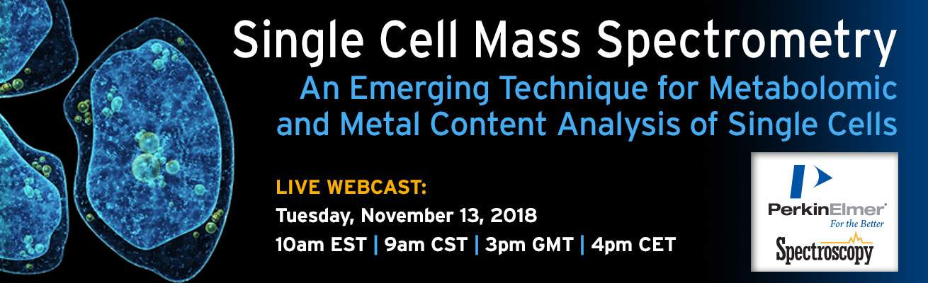 Single Cell Mass Spec Webcast
