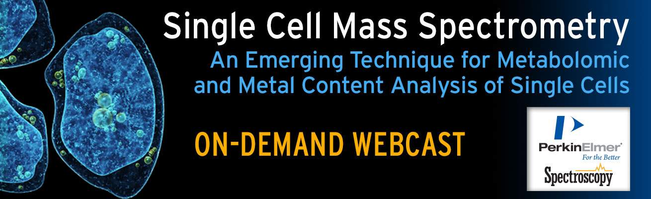 Single Cell Mass Spec On Demand Webcast